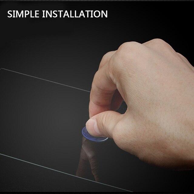 Vehemo-Film de protection décran LCD | Verre trempé, pour voiture GPS, lecteur vidéo MP5, écran de 7 pouces Premium, 153x89mm