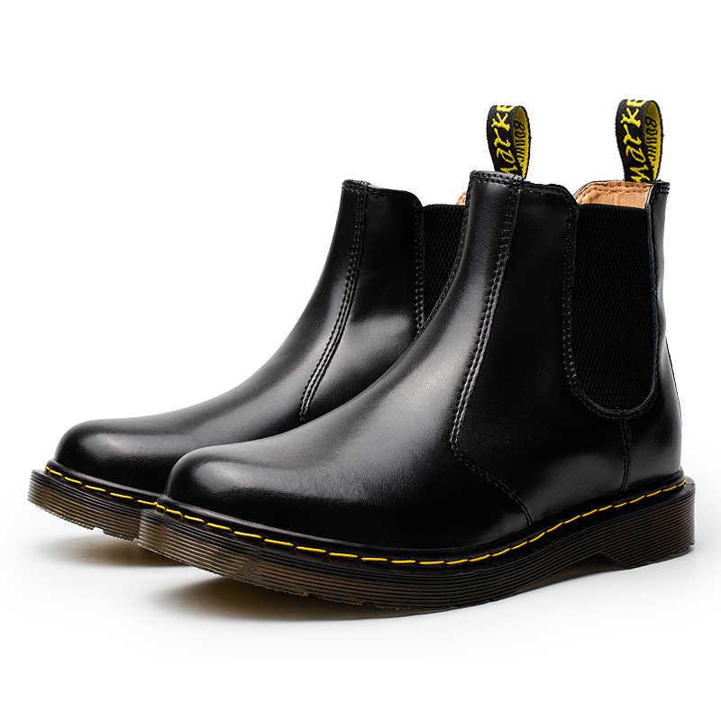 En kaliteli Doc Martns İngiliz Dr Şebeke Vintage Klasik Hakiki Martn Çizmeler chelsea çizmeler kadın ayakkabıları D Matns
