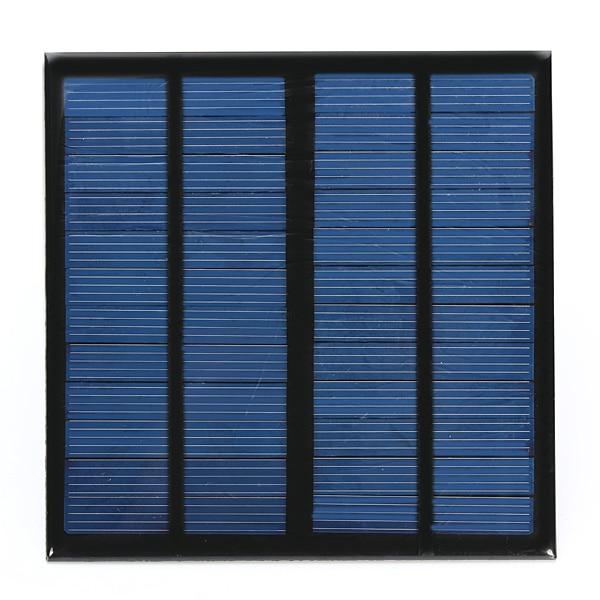 New arrival Solar Panel 3W 12V 0-250MA 145x145x2.5mm Mini Solar System DIY Polysilicon Solar Cell Panel