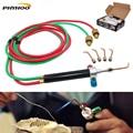 Мини-фонарик  паяльник  Золотое сварочное оборудование для ювелирных изделий с 5 наконечниками  бесплатная доставка
