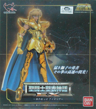 BANDAI japan Model toys Saint Seiya Cloth Myth Gold Ex2.0 Leo aiolia action Figure toy Great Collection