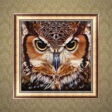 5D diy diamond painting full drill animal Owl embroidery cross stitch kit mosaic decoration home decor 5d diy diamond painting full drill animal two phoenix diamond embroidery cross stitch kit mosaic decoration home decor
