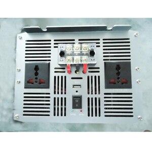 Image 4 - 10000 W 10000 와트 자동차 자동 전원 인버터 순수 사인파 DC 12v 24v AC 220v 110v 변환기 어댑터 USB 충전기