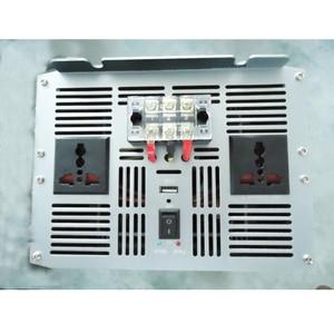 Image 4 - Автомобильный инвертор с синусоидальной волной, 10000 Вт, постоянный ток 12 В 24 В в переменный ток 220 В 110 В, адаптер с USB зарядным устройством