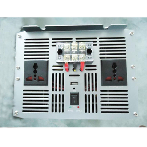 Image 4 - Inversor de potencia automático para coche, 10000 W, 10000 vatios, onda sinusoidal pura de cc 12v 24v a CA 220v 110v, Adaptador convertidor con cargador USB