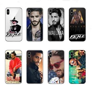 Maluma Ozuna POP Hip Hop Rapper hard PC phone case cover  for iPhone 7 8 5 5s se 6 6s 7 8 Plus X  Coque Fundas Capa Cases Cover gadget