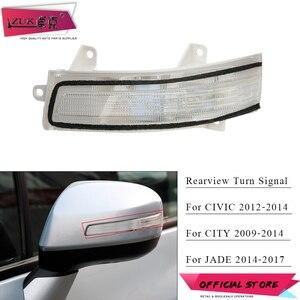 Поворотный Светильник ZUK для зеркала заднего вида, левый и правый для CIVIC 2012 2013 2014 CITY 2009-2014 GM2 GM3 JADE 2014-2017, светодиодный указатель поворота