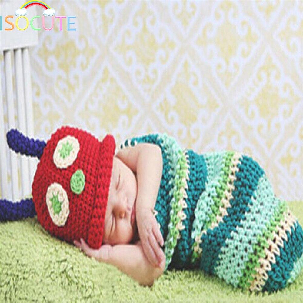 ISOCUTE Colorful Animal Newborn Baby Photography Props Handmade ...