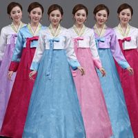 Korean Ancient Costume Women Hanbok for Party Female Asian Clothing for Stage Performance Korean Traditional Court Clothes 89