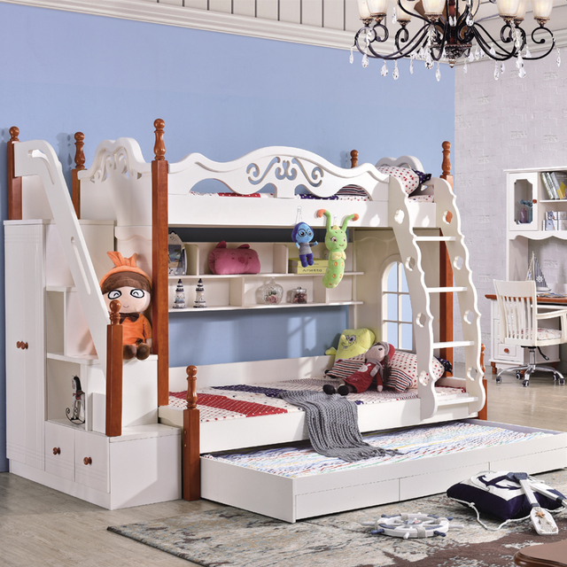Hot Sale Kids Bunk Beds In Bedroom Sets From Furniture On Aliexpress