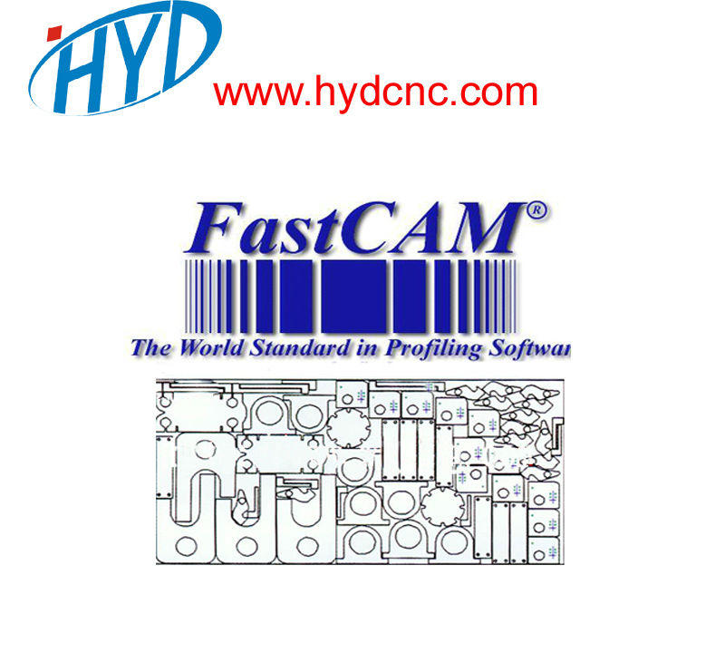 FASTCAM professional version, cnc nesting software for plasma /flame cutting machine