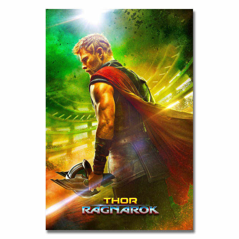 Thor Ragnarok Movie Poster 2017 New Marvel Film Art Silk Or Canvas poster 13x20 24x36inch Picture (click see to more)-2
