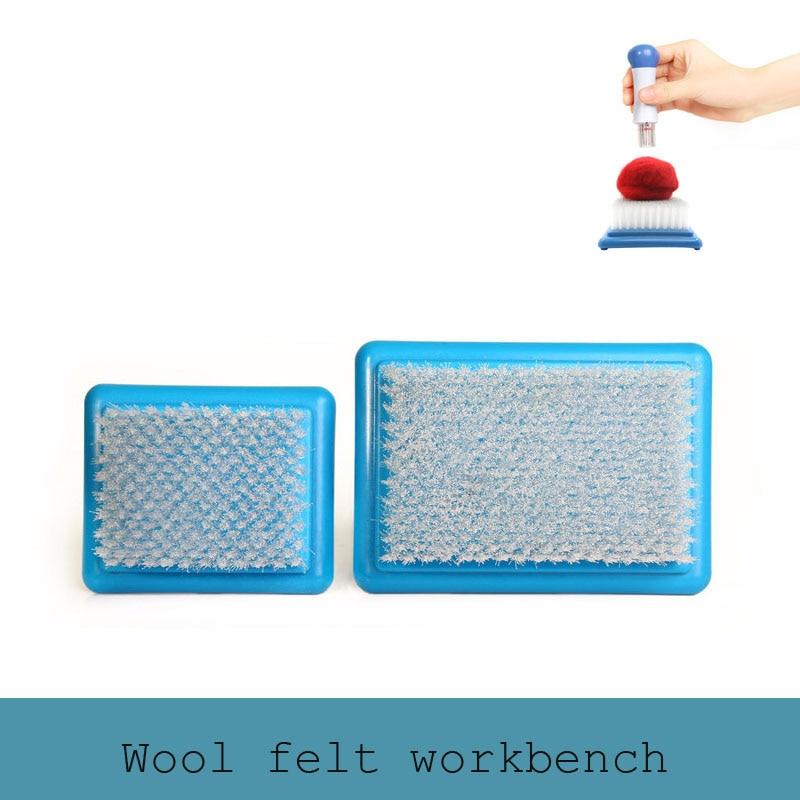 Wool Felting Holder Embroidery Mat Brush Mat Craft Tool Needle Felt Workbench