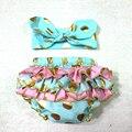 Bebé Bloomer de La Colmena, Ruffle Bum, cubierta Del Pañal Del Bebé Baby girl outfit Polka Dots oro éxito pastel Bloomer 1st Birthday outfit