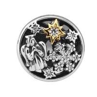 FANDOLA Beads 100% 925 Sterling Silver Original Celestial Wonders Charm Beads Fits Pandora Charms Bracelet Women DIY Jewelry