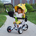 2015 newest style Swivel seat child tricycle baby bike infant stroller baby bicycle