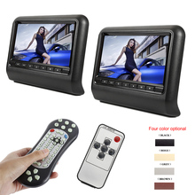 Universal 2pcs Car Headrest DVD Player 9 Inch SD Pl
