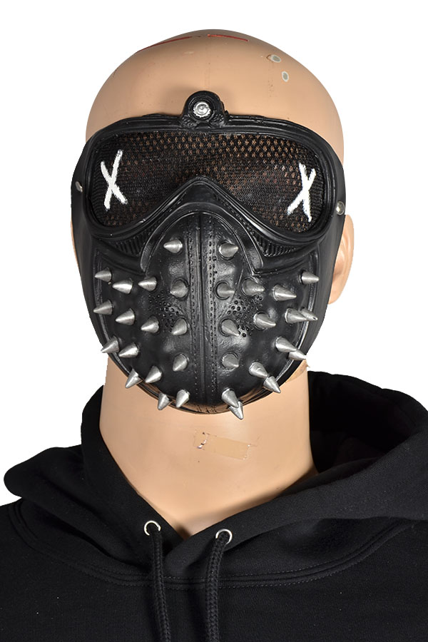 Watch Dogs 2 Mask Marcus Holloway Cosplay Mask Casual Latex Masks Halloween Party Prop Halloween Carnival Women Men