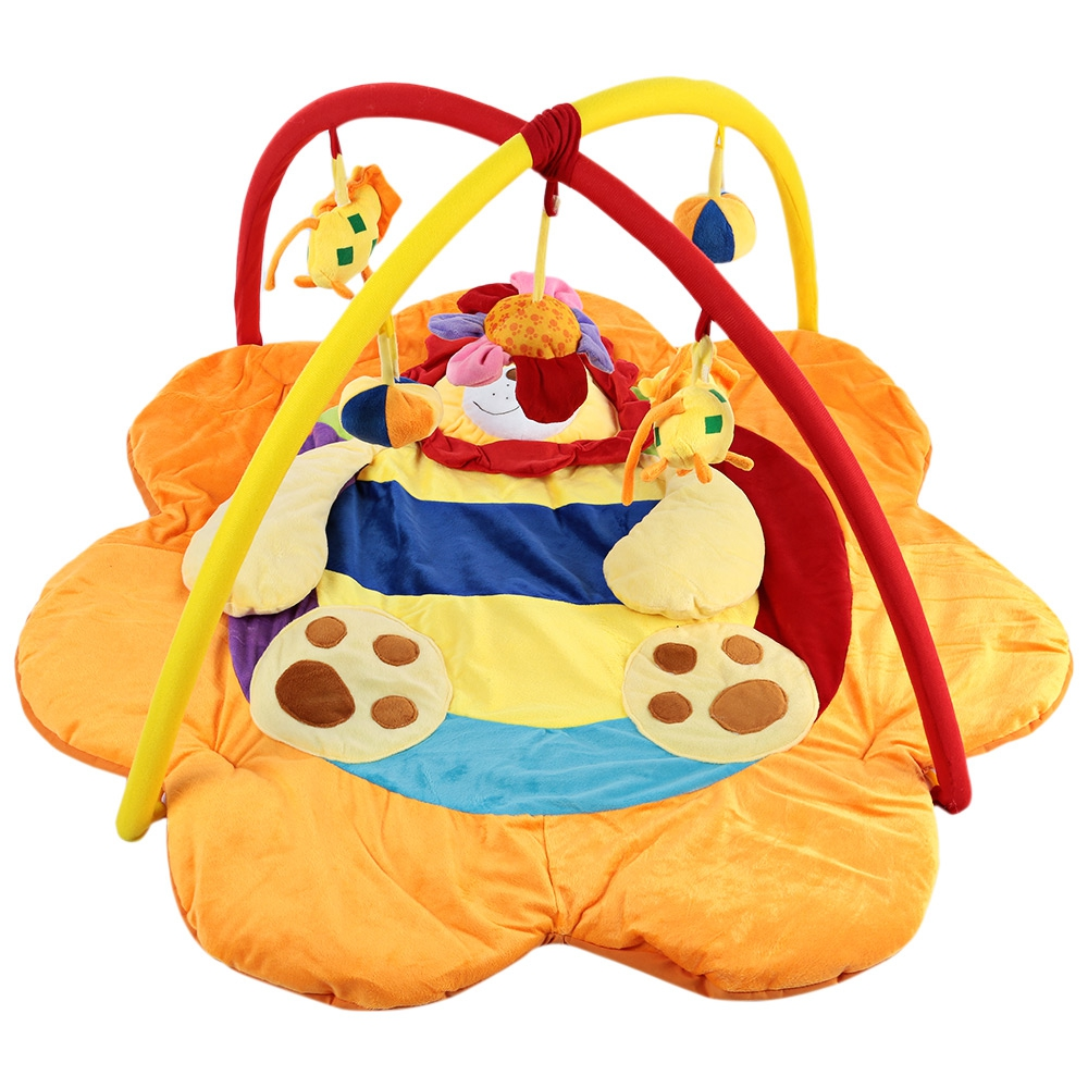 2016 New Baby Soft Play Mat Lion Gym Blanket with Frame