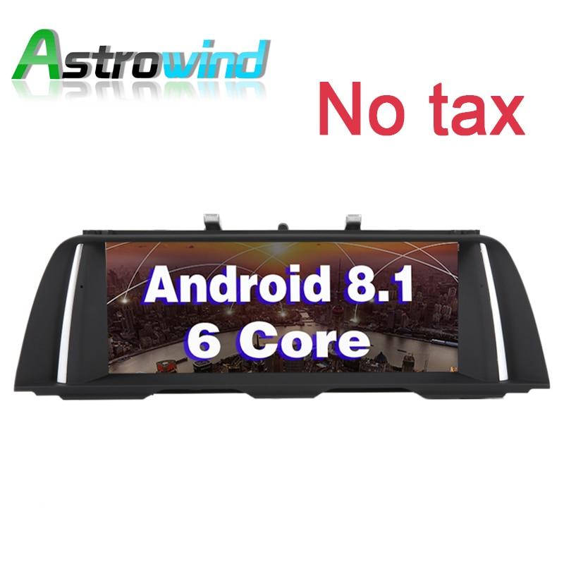 6 Core Android 8.1 Système lecteur multimédia De Voiture Pour BMW F10 F11 GPS Navi Radio IPS Écran Aucun Impôt livraison à partir de ROYAUME-UNI