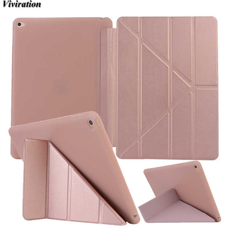 Viviration Soft Shockproof Tablet Accessories Luxury Newest Tablet PC Case For Apple iPad Mini 4 7.9 Inch Tablet PC Stand Cover