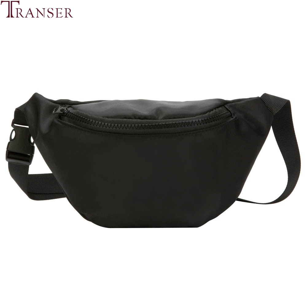 Transer Children's Waist Pack Kid Purse Snack Pack Fashion solid Chest Bag For Boy Girl Money Waist Bags Travel Wallet O1 35