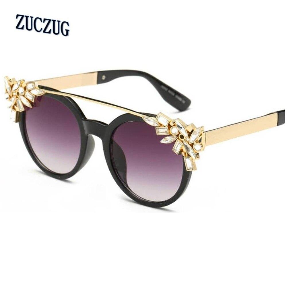 Dames Cat Eye-zonnebril voor dames Merk Designer Diamant Decoratie - Kledingaccessoires