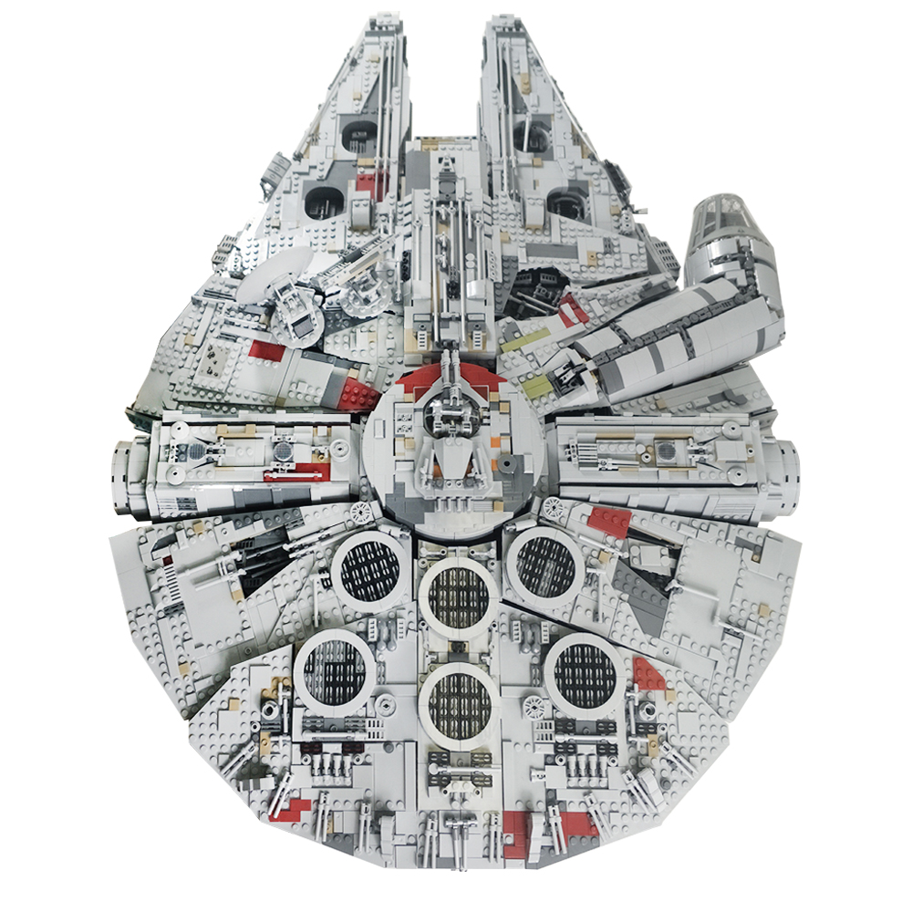 Star Wars Lepin Millennium Falcon Ultime Collector Series 05132 Talkie Walkie