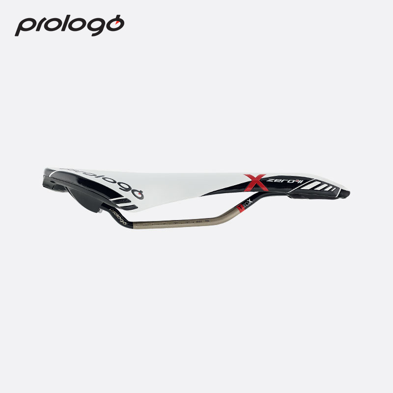 Original Prologo X ZERO II Saddle Microfiber T2 0 Rail Bike Saddle Seats White Black Color Cycling Front Seat Mat High Quality in Bicycle Saddle from Sports Entertainment