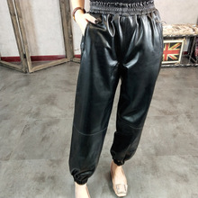 2019 New Fashion Genuine Sheep Leather Pants Y42