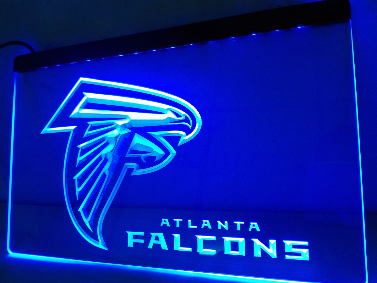 Ld065 Atlanta Falcons Football Bar Led Neon Light Sign In Plaques Signs From Home Garden On Aliexpress Alibaba Group