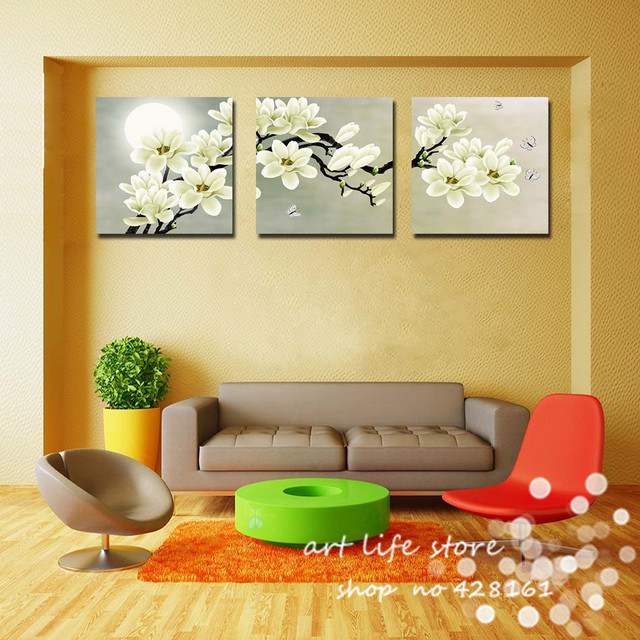 Online Shop 3 Piece Free Shipping Hot Sell Modern Wall Painting ...