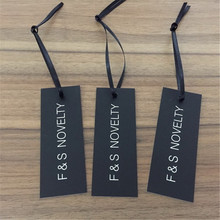 Customized Clothing Hem Tag/ Garment HangTag