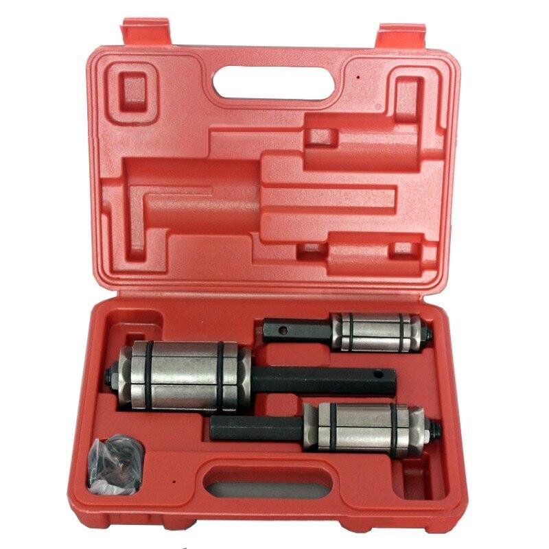 "3Pcs Car Exhaust Tail Pipe Tube Expander Tool Kit 1-1/8"" to 3-1/2"" 29-89mm car repair Hand Tools"