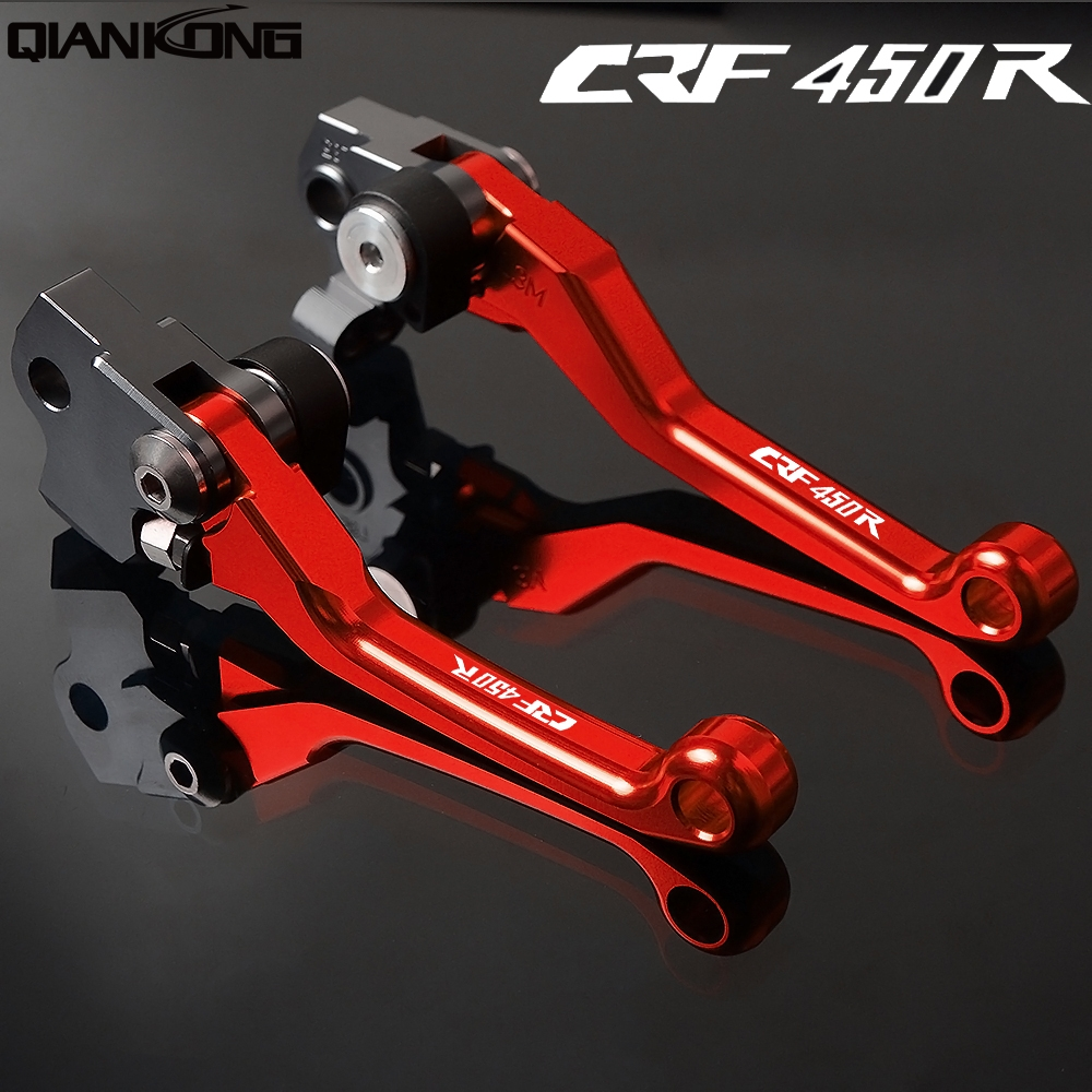 Motorcycle brakes Motorcycle Brake Clutch Levers FOR HONDA <font><b>CRF450R</b></font> 2007 2008 2009 <font><b>2010</b></font> 2011 2012 2013 2014 2015 2016 2017 2018 image