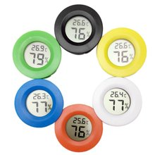 Multicolor Mini LCD Digital Thermometer Hygrometer Fridge Freezer Tester Temperature Humidity Meter Detector