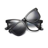 56-20-145 새로운 근시 안경 프레임 레트로 남성 여성 TR 안경 편광 거울