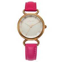 Disney brand Genuine leather fashion women wristwatch quartz waterproof woman watches luxury top ladies clock Mickey original