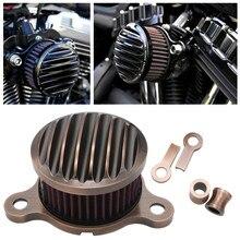 Système de Filtre à Air en Bronze pour Moto, pour Harley Sportster XL Iron 883 XL1200 48 72 2004 – 2014