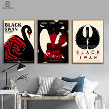 Punk Wall Art HD Pattern Unframed Posters Black Swan Black Film Best Movie Pictures Canvas Images For Theater Home Office Decor