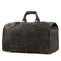 ROCKCOW Vintage Crazy Horse leather men travel bags big luggage & bags duffle bags Large tote 3151