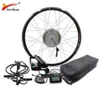 BAFANG 48 В 350 Вт 500 двигатель колесо для электрического велосипеда Conversion Kit с LG48V16AH батарея 8fun Планетарная втулка 26 700C 28 Ebike комплект