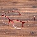 Женская Мода Близорукость Очки Рамка Elegent Очки Очки Оптические Оправы для очков Прозрачные Линзы Очки Красный Синий Черный Коричневый