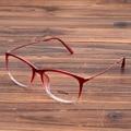 De las mujeres de Moda Elegent Marco Vidrios de La Miopía Gafas Anteojos Ópticos Monturas de gafas Lente Clara Gafas Rojo Azul Negro Marrón