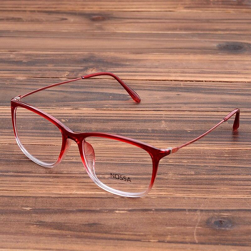 e4274d90ca2 Buy Women s Fashion Myopia Glasses Frame Elegent Eyewear Eyeglasses Optical  Spectacle Frames Clear Lens Goggles Red Blue Black Brown - Insight Store  store ...