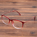 Women's Fashion Myopia Glasses Frame Elegent Eyewear Eyeglasses Optical Spectacle Frames Clear Lens Goggles Red Blue Black Brown