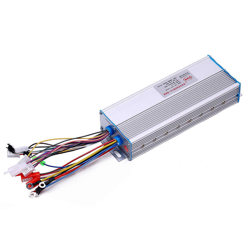 1pc 48V-72V 1000W Brushless Motor Controller 18 Fets Hall For Electric Bike Bicycle Scooter E-bike Tricycle New