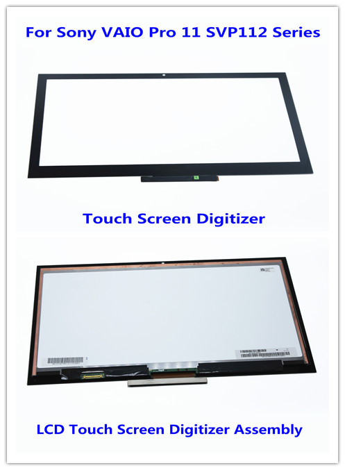 New 11.6'' Touch Screen Digitizer + LCD Screen Display Assembly For SONY VAIO V260 SVP112 Series SVP11216PX SVP112A17T 1920*1080 ac 110v 230v 160db motor driven air raid siren metal horn industry boat alarm ms 590