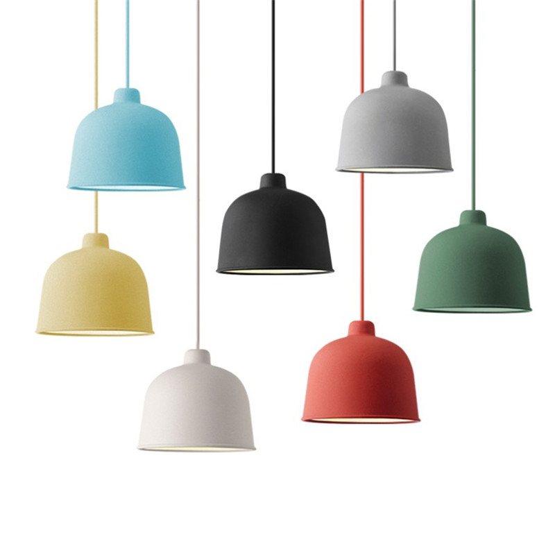 Modern Pendant Light Nordic Style Hanging Lamp Grain Pendant Lamps Table Suspension Luminaire Kitchen Light Fixtures Bar Lamp