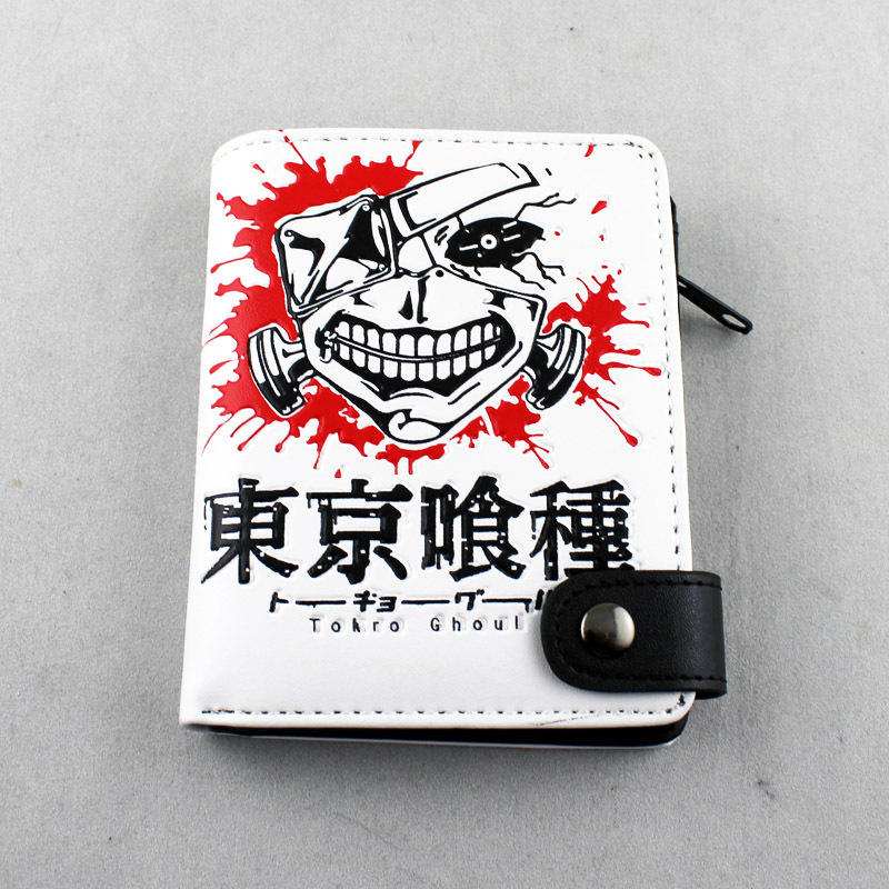 Free shipping anime Tokyo Ghoul Wallet keyrings Kaneki Ken cosplay accessories anime tokyo ghoul cosplay anime shoulder bag male and female middle school student travel leisure backpack